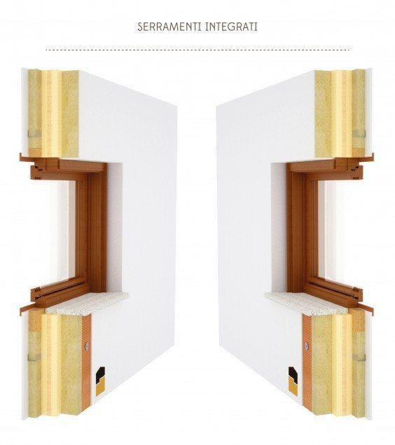 Dettagli costruttivi Xlam Serramenti