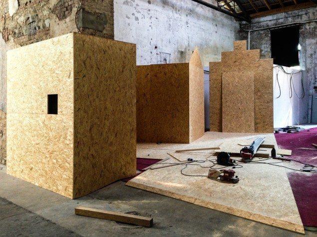 Installazione Legno Paracity 2013-2