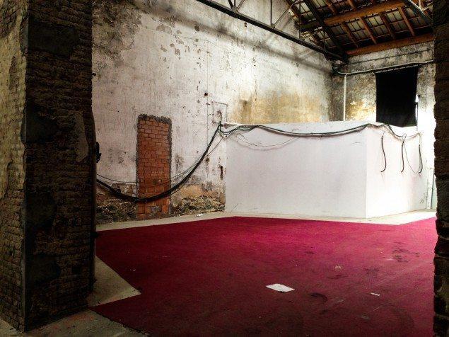 Installazione Legno Paracity 2013