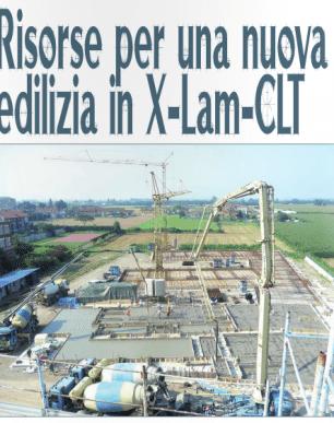 risorse per una nuova edilizia in X-lam CLT