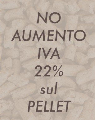 No Iva 22% sul Pellet