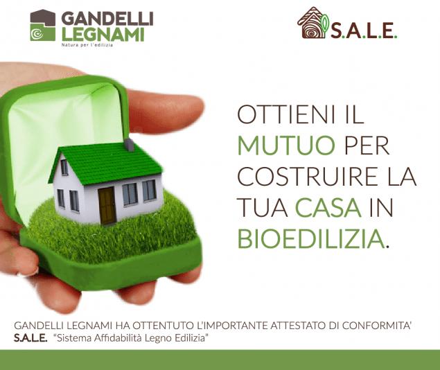 Ottieni il mutuo per costruire la tua casa in bioedilizia for Mutuo per la casa per costruire una casa