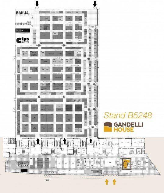 Piantina generale Bakubuild 2015