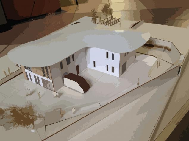 plastico-del-progetto-casa-della-salute-in-legno-larciano