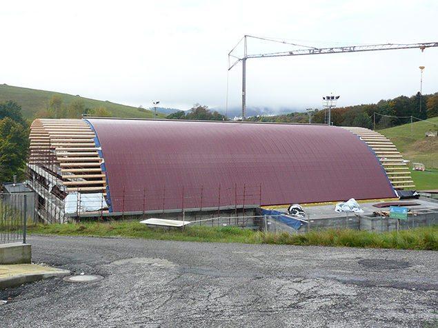 centro sportivo copertura legno velo veronese gandelli legnami