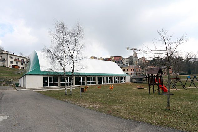 impianto sportivo copertura legno velo veronese gandelli legnami